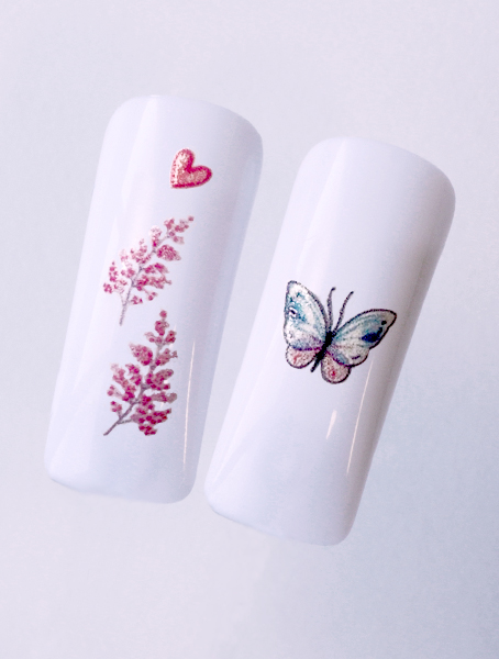 Water decals, nail stickers N 1143 image